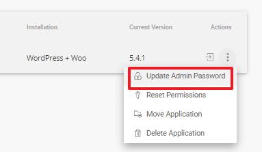 siteground的site-tools后台修改wordpress网站的密码