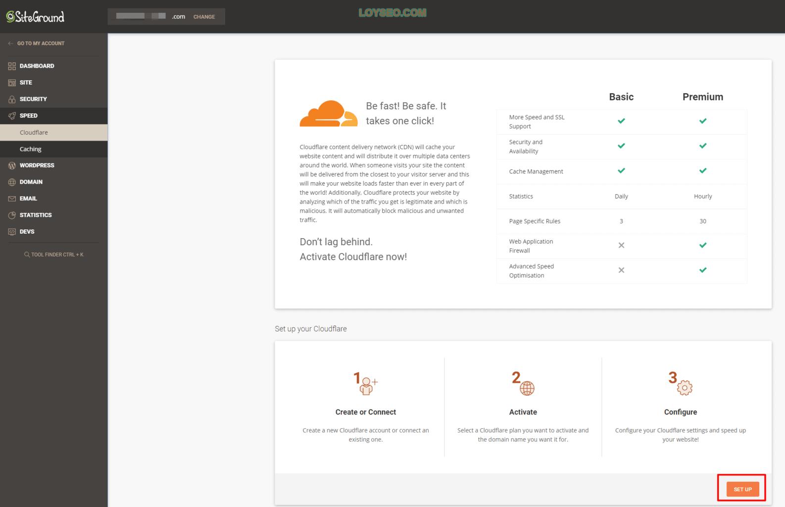 siteground给网站启用cloudflare-cdn-1