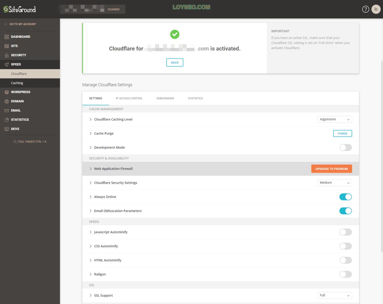 siteground给网站启用cloudflare-cdn-4