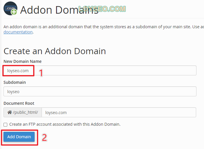 add a new domain wordpress website in greengeeks 3