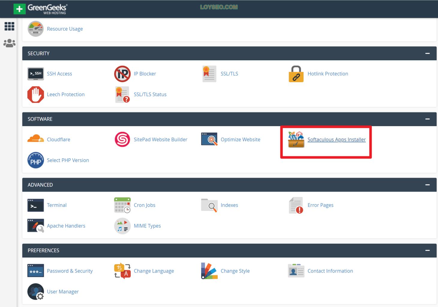 geen geeks wordpress hosting tutorial 28