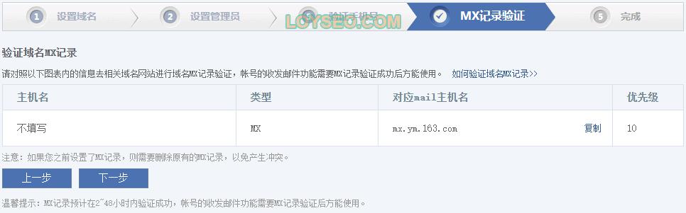 how to create wangyi free enterprise mail 5