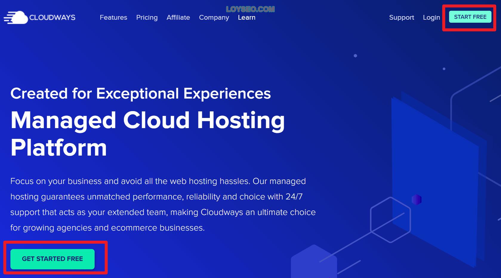 注册Cloudways
