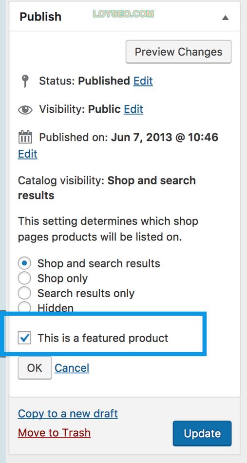 catalog featured image - 如何用WooCommerce管理和添加产品