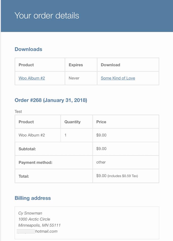 digital download email - WooCommerce如何设置与添加可下载产品