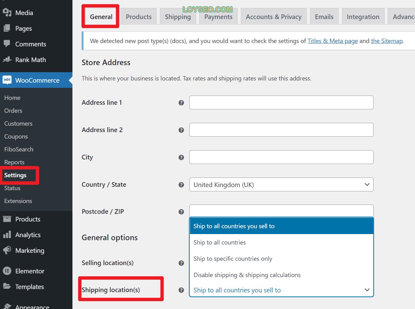 image 2 - 如何在WooCommerce中设置运费(免费功能)