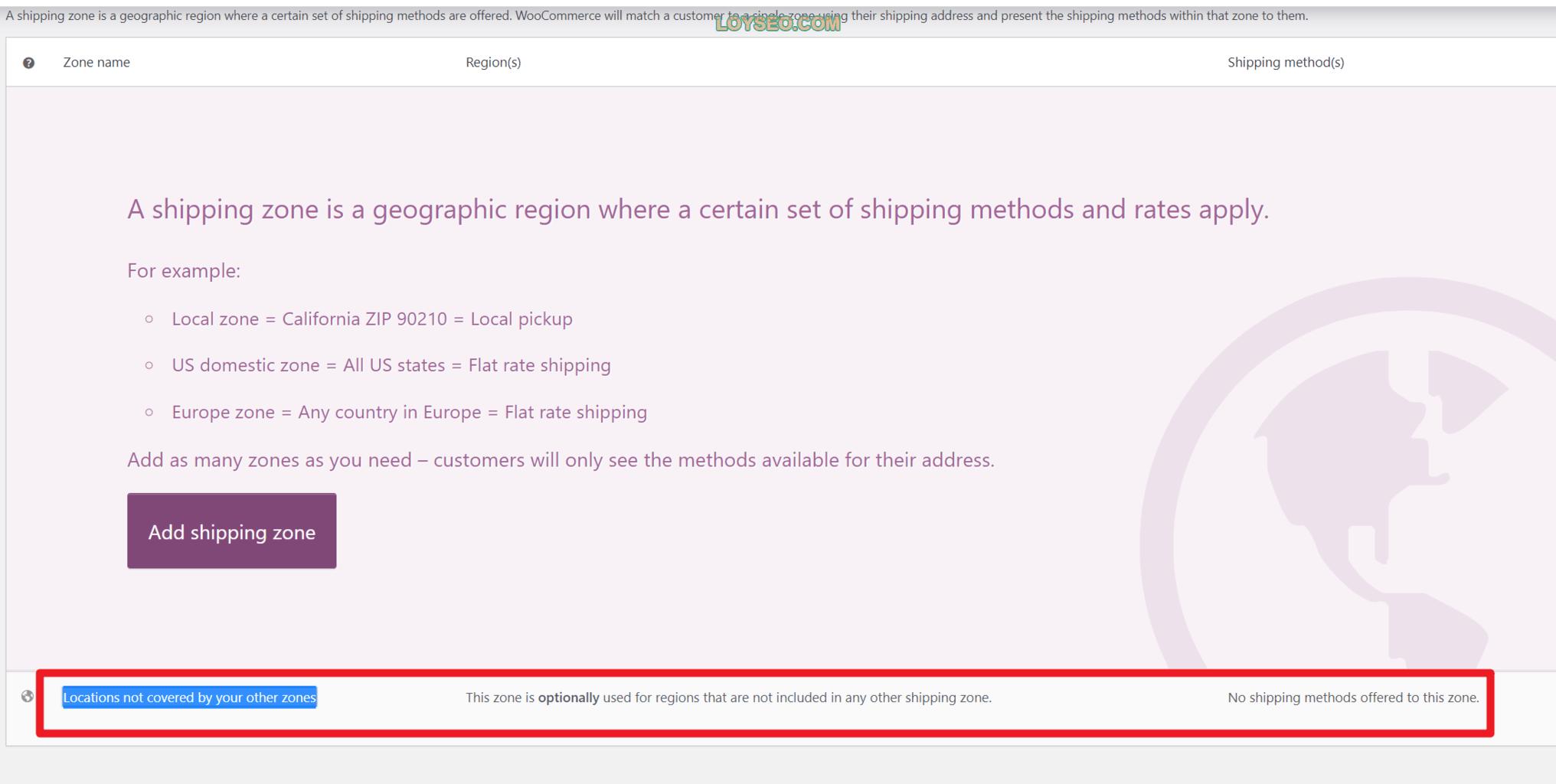 image 4 - 如何在WooCommerce中设置运费(免费功能)