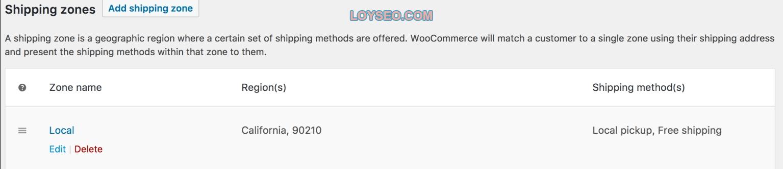 image 8 - 如何在WooCommerce中设置运费(免费功能)
