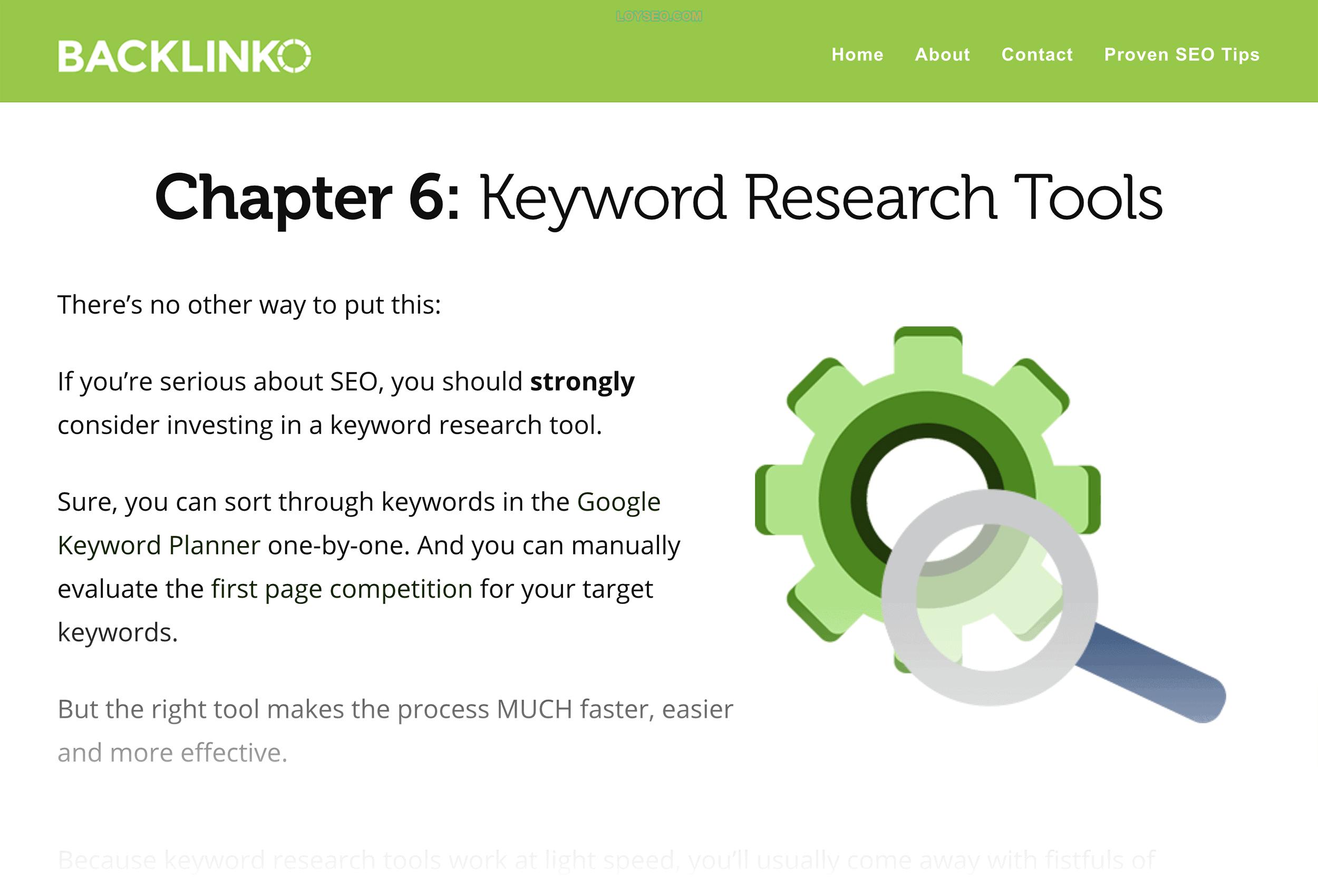 Backlinko – Chapter 6