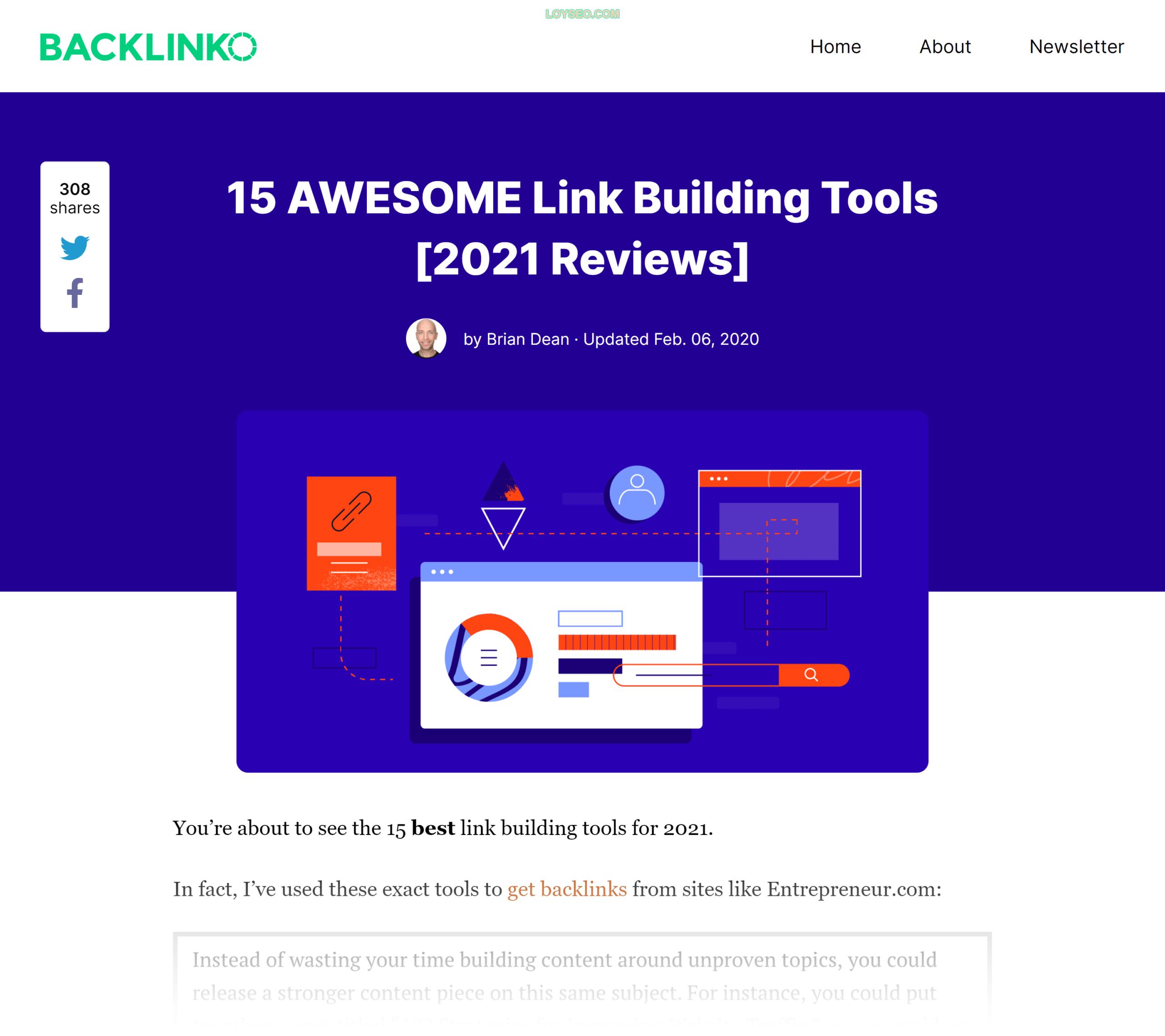 Backlinko – Link building tools