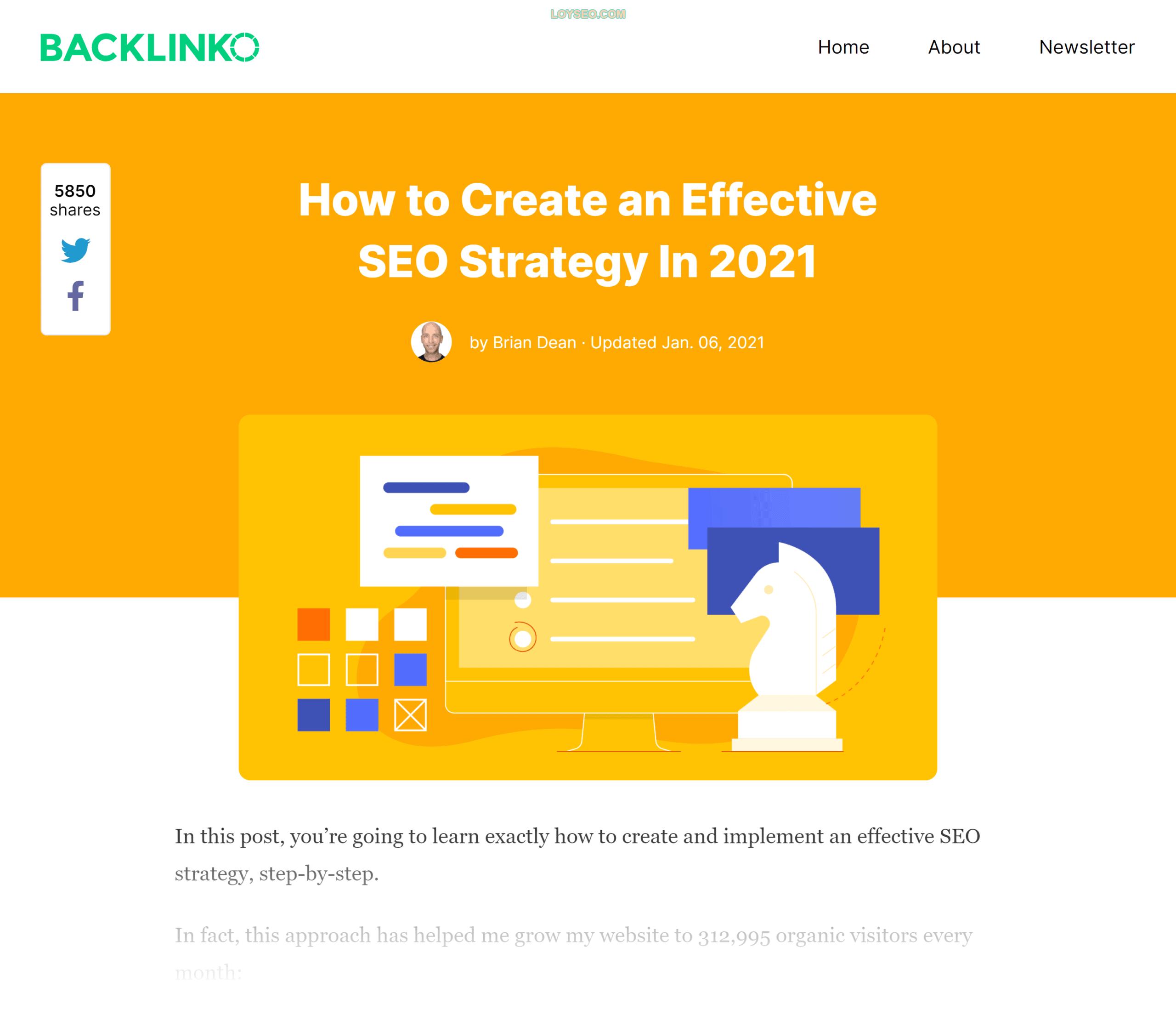 Backlinko – SEO strategy