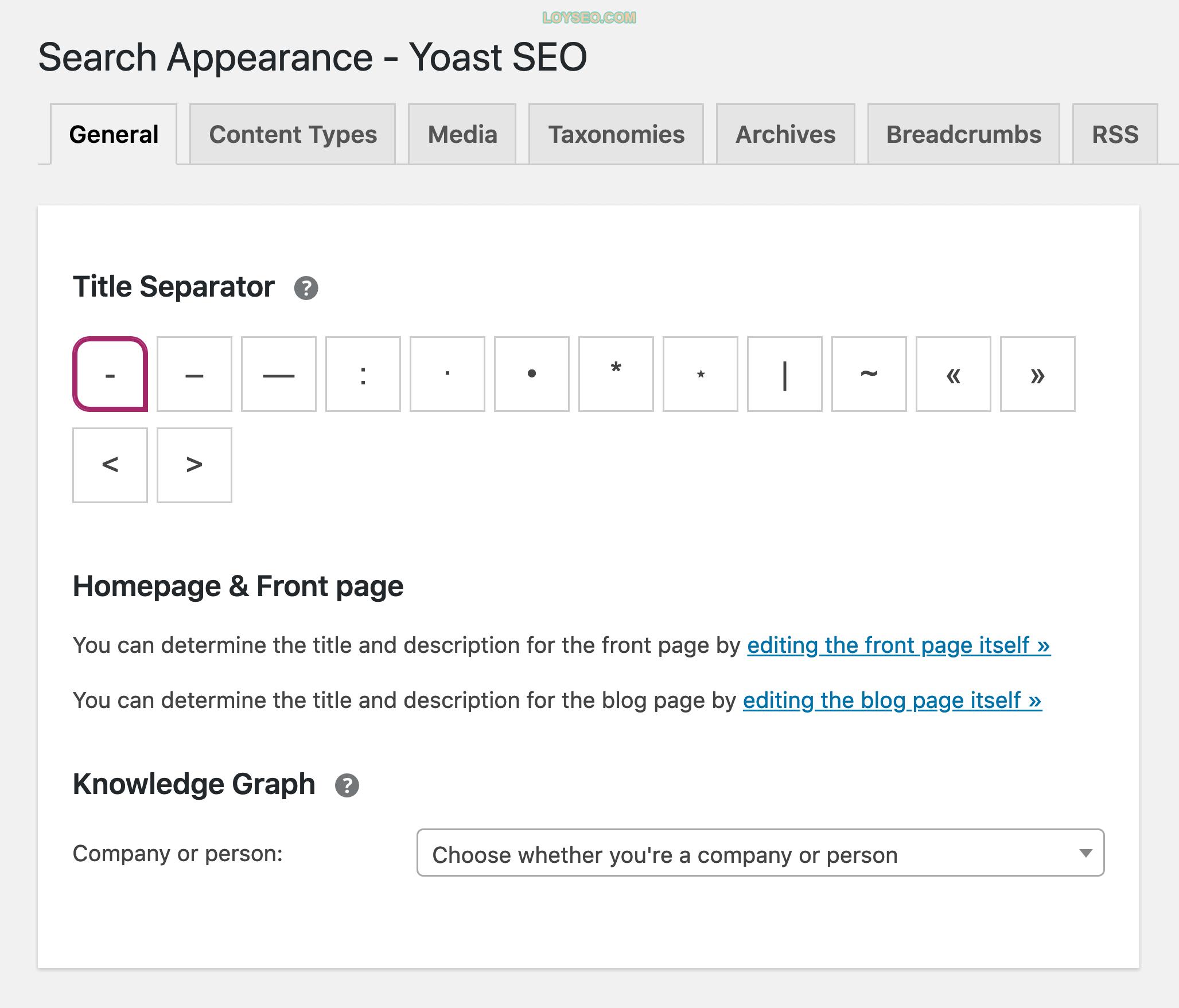 Yoast SEO – Features
