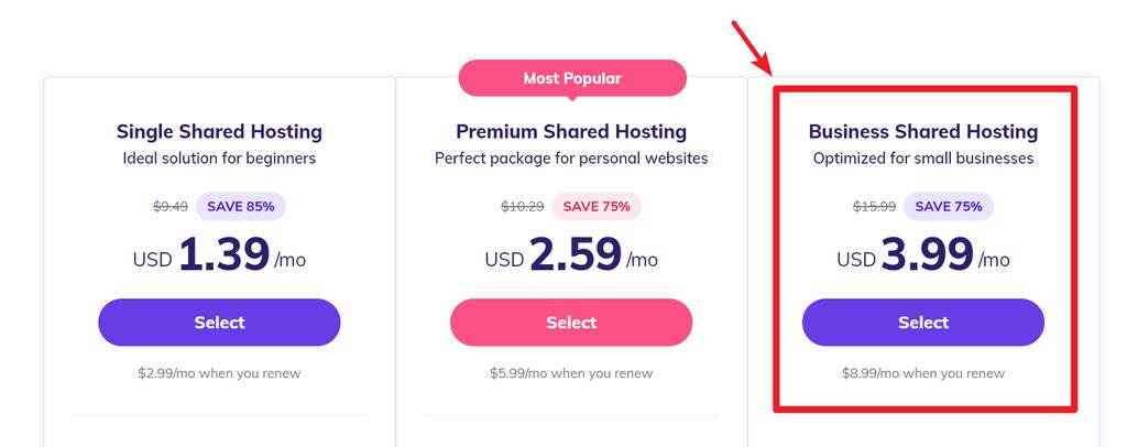 buy hostinger 2