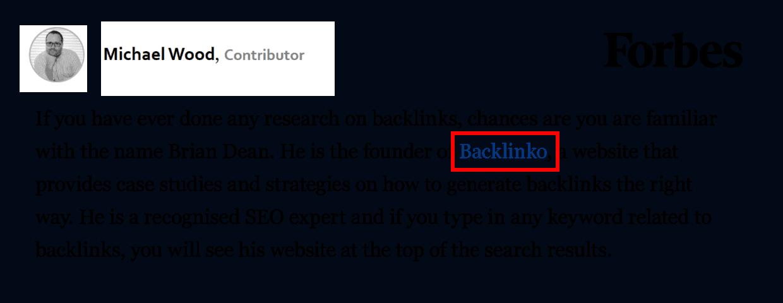 Forbes backlink